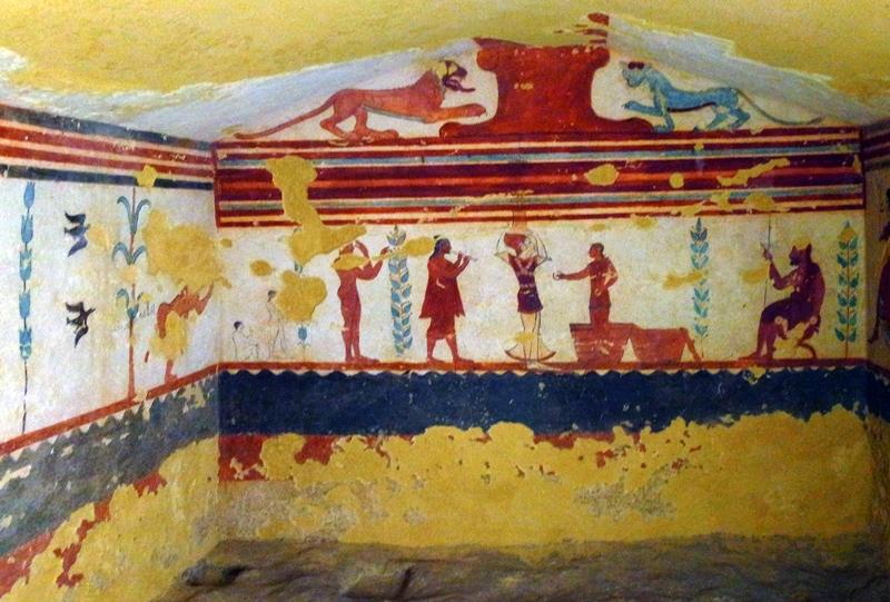 Necropoli Di Tarquinia Istanti Di Bellezza