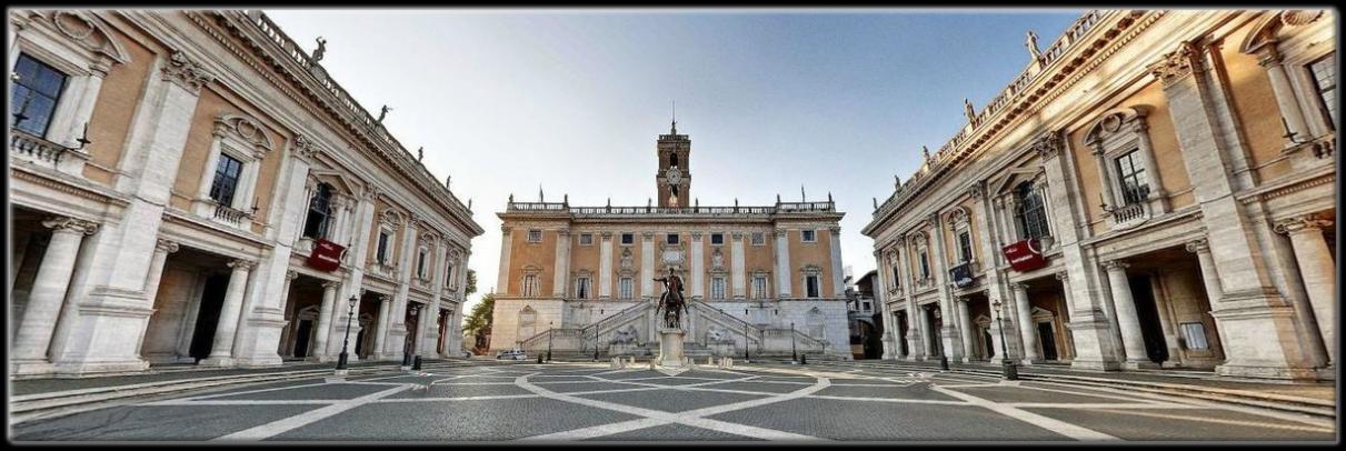 Piazza Del Campidoglio Istanti Di Bellezza